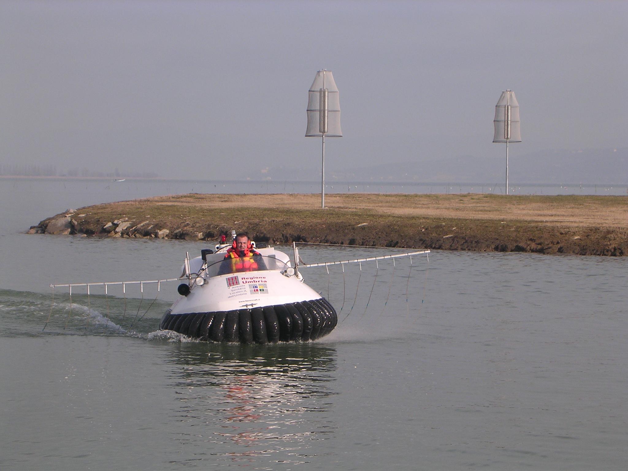 hovercraft in trattamento